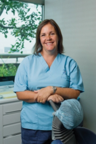 Dr Marijke, Loggie of TP Dental Clinic