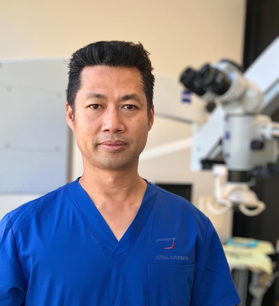 Dr Azlan Daud of TP Dental Clinic